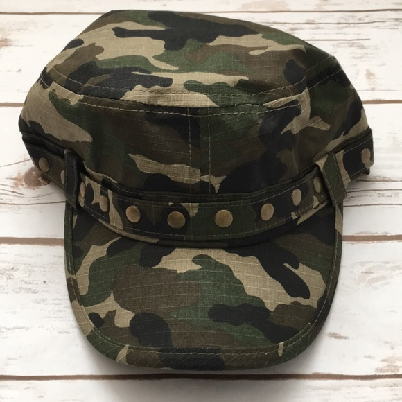 Pugs Gear Accessories - [Pugs Wear] Camo and Studded Cadet Hat